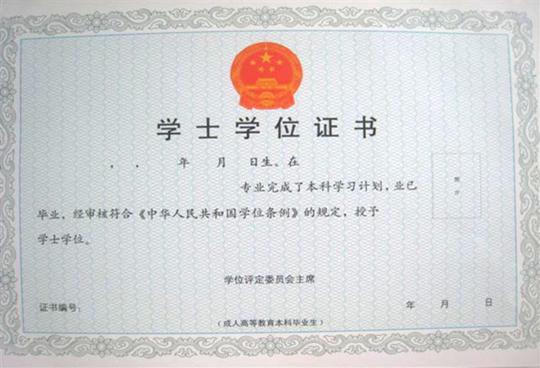 学位证书翻译案例