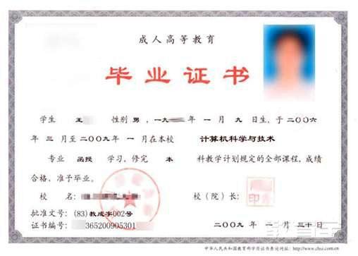 学历证书翻译案例