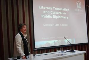 加拿大渥太华大学翻译与口译学院院长到外国语学院讲学