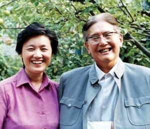 章含之和丈夫乔冠华(前外交部长)