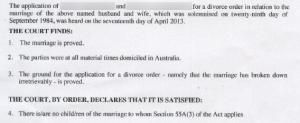 离婚协议书英文原件1
