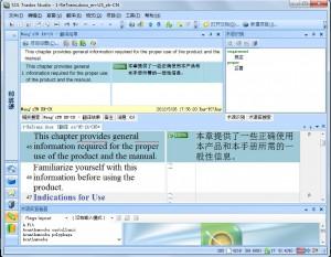图 5 使用TM 自动翻译文档